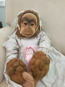 Adorable Vintage Hosung Monkey 5 Hand Puppets