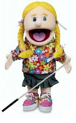 Silly Puppets Cindy Glove Puppet Bundle 14 inch with Arm Rod