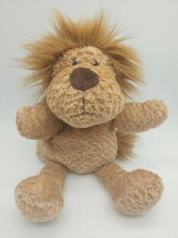 LION Hand Puppet with tail. Manhattan Toy 2007 plush toy. EU