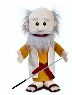 Silly Puppets Moses Glove Puppet Bundle 14 inch with Arm Rod