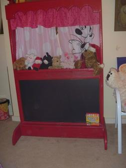 Puppet Theater Hand Made With Puppets