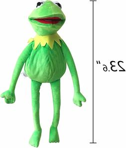 TQWER Kermit Frog Puppet, The Muppets Show, Soft Hand Frog S