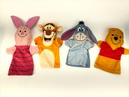 Winnie the Pooh Plush Hand Puppets Disney Set of 4 by Meliss